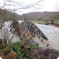 Keswick to Threlkeld railway path impassable