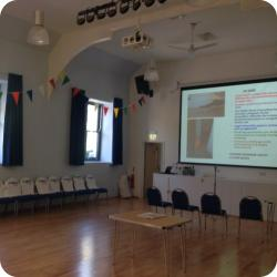 Hire the Hall for presentations