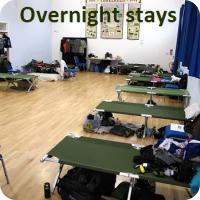 Overnight stays